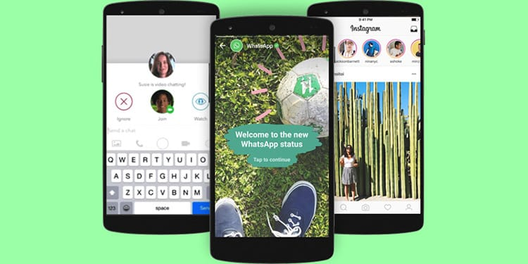 How To Use Whatsapps New Status Feature Web Design