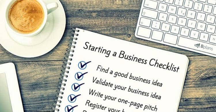 Do a small business plan