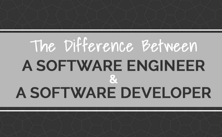 software developer vs software engineer