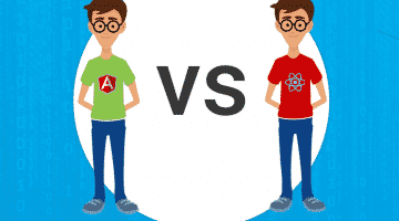 ReactJS vs Angular 2017
