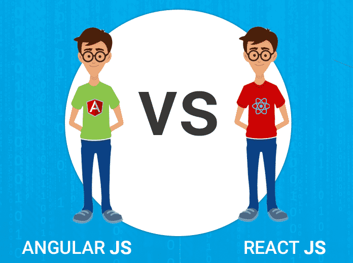 ReactJS vs Angular 2017