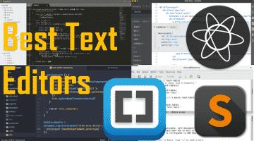 Atom vs Sublime vs Visual Studio Code vs Vim