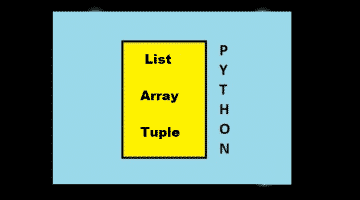 Python List vs Array vs Tuple