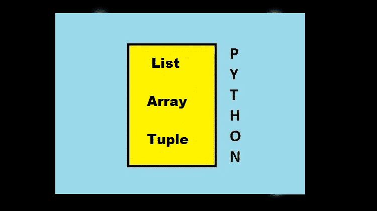 Python List vs Array vs Tuple