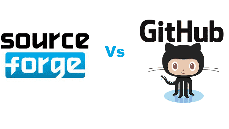 What is the difference Between SourceForge and GitHub? - Web
