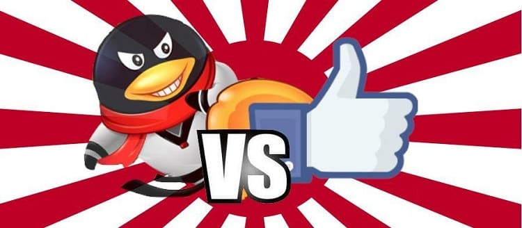 Facebook and Tencent