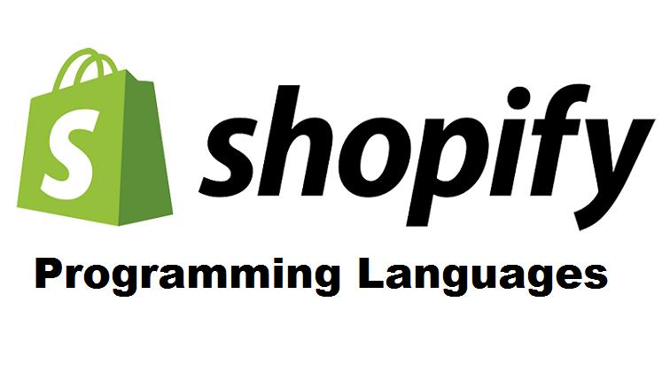 Shopify programming language