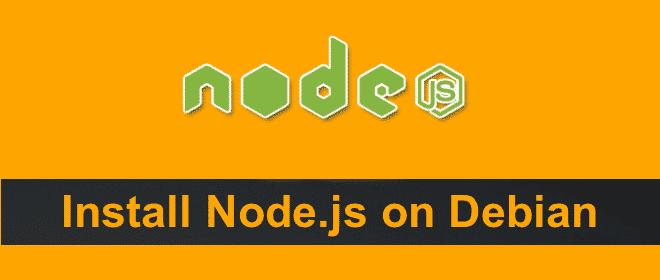 Install Node.js on Debian-Based Distro