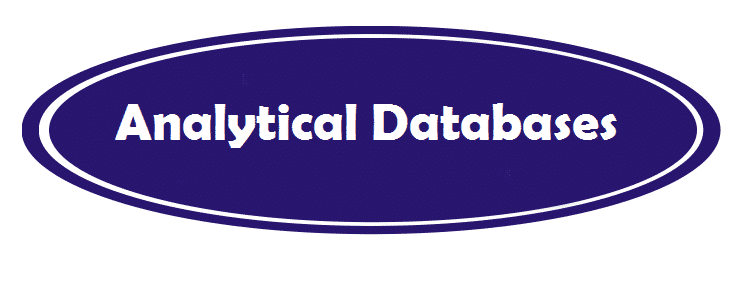 Analytical databases