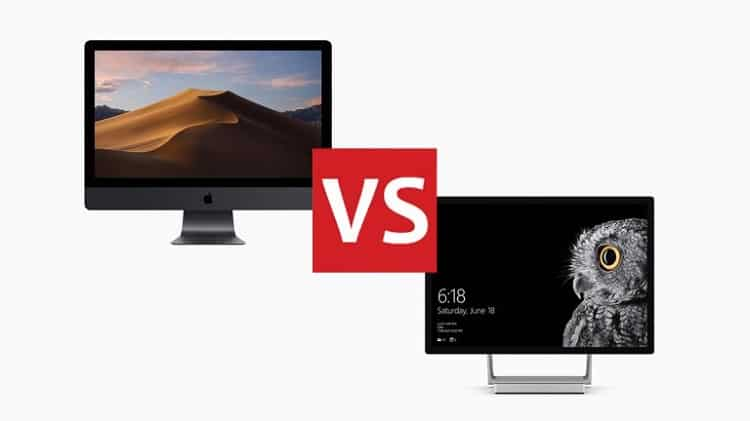 Apple Mac OS vs. Microsoft Windows 10