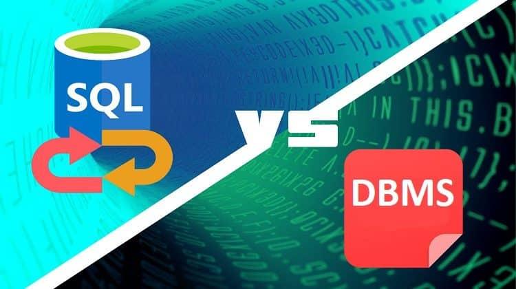 DBMS Software vs SQL Tool