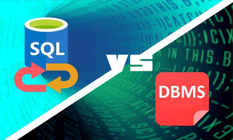 DBMS Software vs SQL Tool