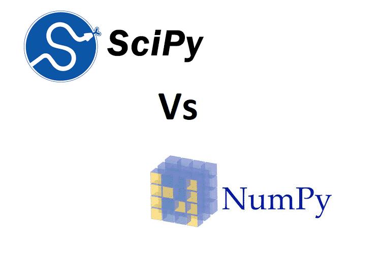 NumPy vs SciPy