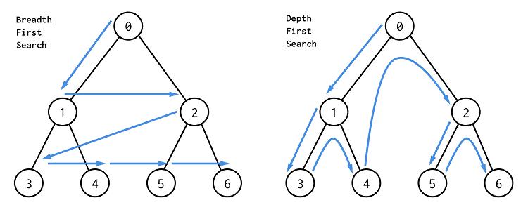 BFS vs DFS Algorithms