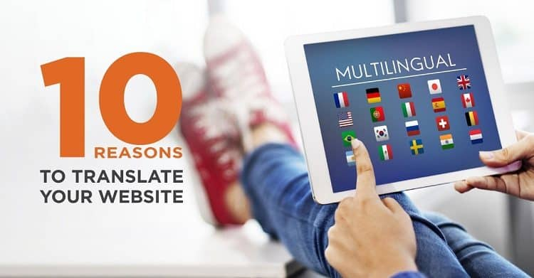 10 reasons to Translate Your Website