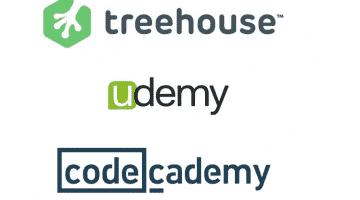 Treehouse vs Udemy vs Codecademy