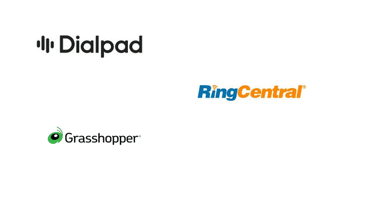 Dialpad vs RingCentral vs Grasshopper