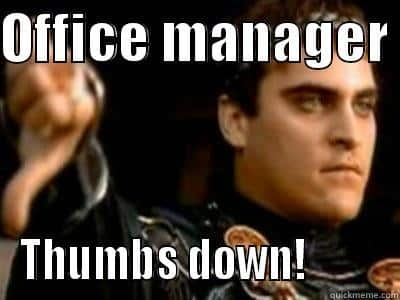 Office Managers jokes