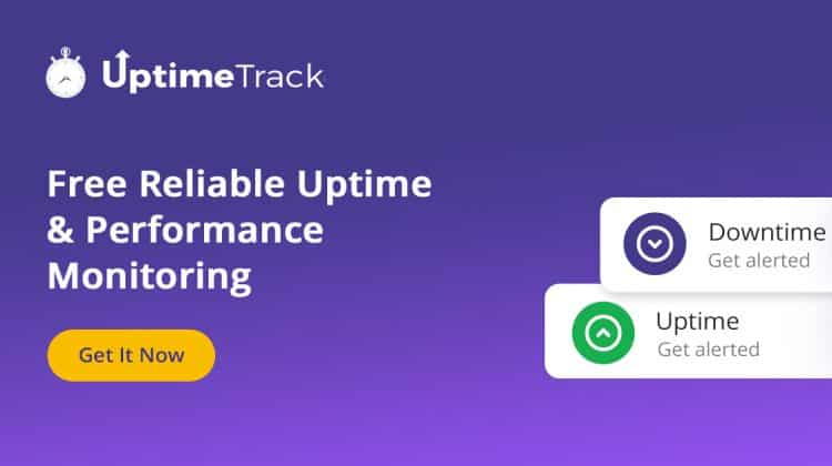 UptimeTrack Free Website Monitoring