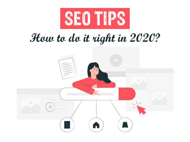top SEO Tips 2020
