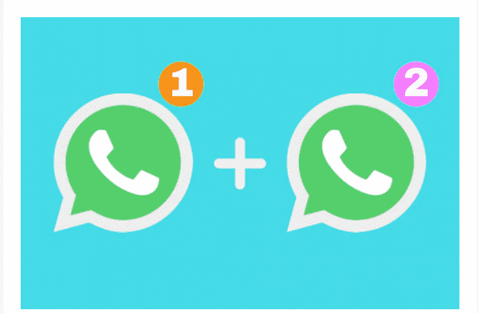 WhatsApp with 2 Numbers