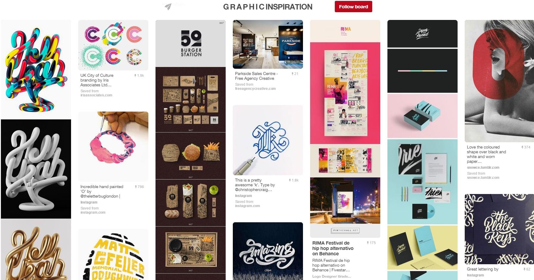 Top 10 Graphic Design Pinterest Boards All Designer Should Follow