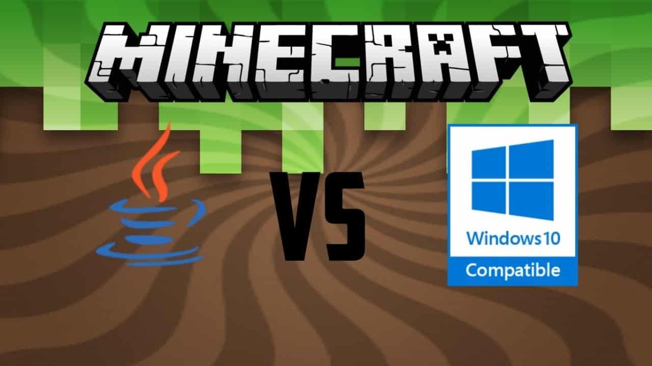 Minecraft Java Edition Vs Windows 10 Web Design Seo Freelancinggig