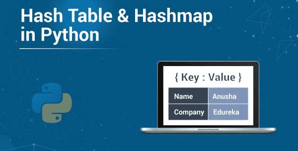HashMap in Python