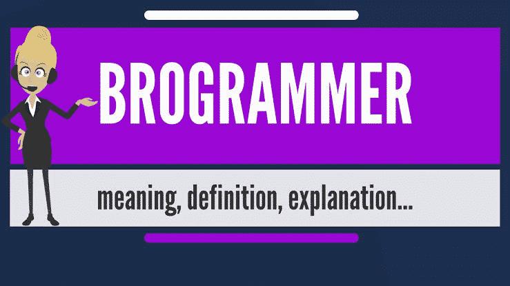 Brogrammer Culture