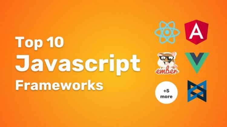 JavaScript frameworks 2020