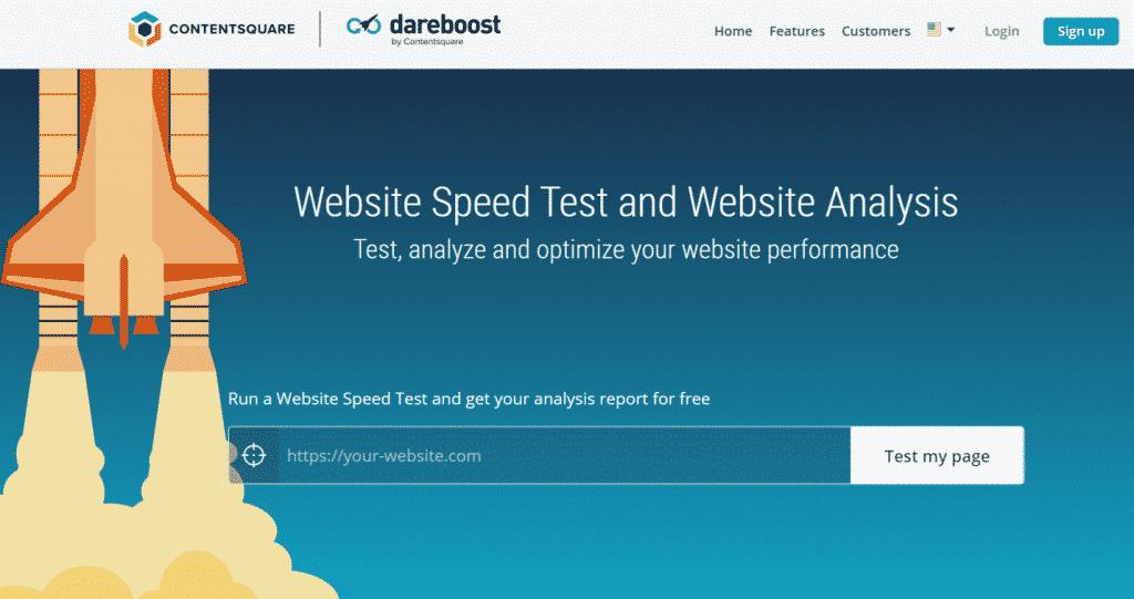 Dareboost website monitoring