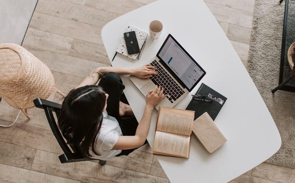 freelancer studying