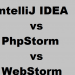 IntelliJ IDEA vs PhpStorm vs WebStorm IDE Differences